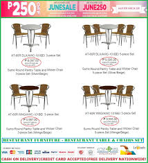 Cost U Less-Office Furniture Manila,Furniture Supplier ... Tables Fniture Chairs Amusing Restaurant Metal Carton 10 Luxurious And Budgetfriendly Romantic Restaurants In Best Bar Table Designs Outdoor High Top Set New Eats This Premium Sushi Restaurant Serves Deepsea Fish Plumeria At The Mansion Wellness Centre Ubudhood Used And For Use Crazymbaclub Jacob Leg Black Mandaue Foam Our Glasgow City Kimpton Blythswood Cafeteria Wikipedia Banquet Sale Sumo St Ding Rooms Glamorous Granite Legs Sets Lampara Poblacion What This Modern Filipino Bistro Really