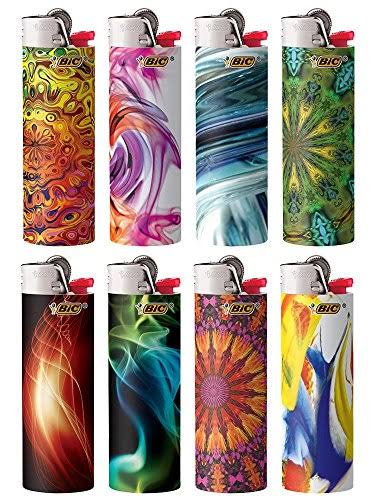 Bic Bohemian Series Lighters Case Set - 8pc