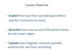 Sea Floor Spreading Subduction Animation by Explain How Sea Floor Spreading Provides A Way For Continents To