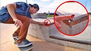 tech deck at a real skatepark youtube
