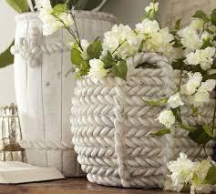 Ceramic Rope Vases