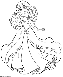 Full Size Of Filmfree Princess Coloring Pages Ariel Sheet Little Mermaid For