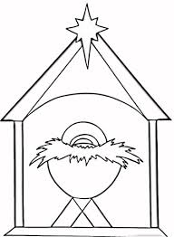 Click To See Printable Version Of Christian Christmas Coloring Page