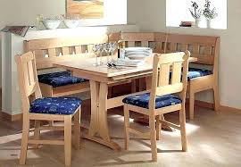 Kitchen Nook Sets Tables Built In Corner Dining Table Elegant Comfortable