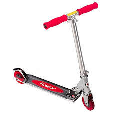 Pretty Much Every Kid Starts Out On A Folding Razor Style Level 1 Scooter Because They Are Inexpensive And Easy To Find If Dont Have One Of Their Own