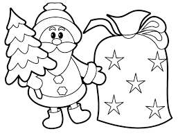 Santa Coloring Pages Games Christmas Rudolph Sheets Pdf Free For Kids Printable Full Size
