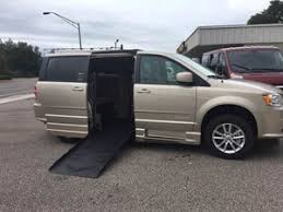 Used Wheelchair Van For Sale 2016 Dodge Grand Caravan SXT Accessible