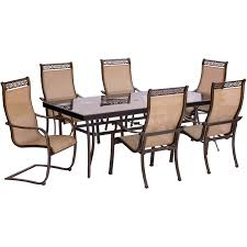 7 Piece Patio Dining Set With Umbrella by Monaco 7 Piece Dining Set With Four Dining Chairs Two C Spring