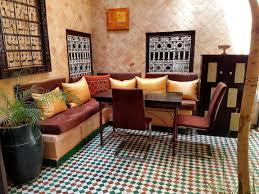 innenhof unseres riad marrakesch hotel in marrakesch