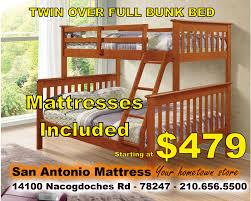 100 San Antonio Loft Bunk Beds And Beds FUTON STORE