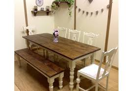 Cottage Style Rustic Table Chairs