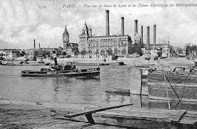 port de la rapee l usine électrique du métropolitain quai de la rapée