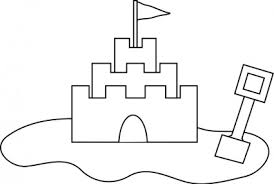 Sand Castle Free Vector In Open Office Drawing Svg Format