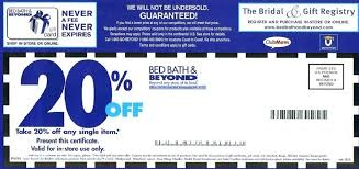 Bed Bath Beyond Baby Registry by Bed Bath And Beyond 20 Off Coupons Bed Bath And Beyond Coupon