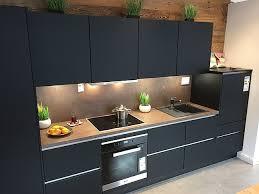 xeno küchen musterküche hochwertige xeno küche schwarz matt
