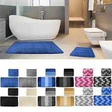 badezimmergarnitur 2 teilig badezimmer set matte vorleger wc