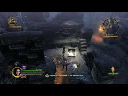 dungeon siege 3 map dungeon siege 3 walkthrough quest the tumbledown court