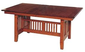 Mission Dining Room Table Style