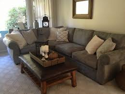 Pottery Barn Grand Sofa by Pottery Barn Pearce Sectional In Silver Taupe Perfect Sofa And