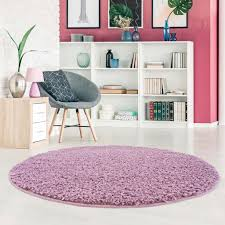 carpet city hochflor teppich pastell shaggy300 rund 30 mm höhe wohnzimmer