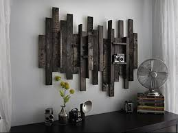 Rustic Wall Art Wood And Metal
