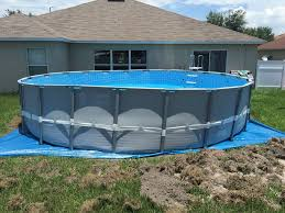 Best Above Ground Pool Floor Padding by Off Level