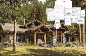 Log Mansion Floor Plans Colors Post And Beam Homes By Precisioncraft