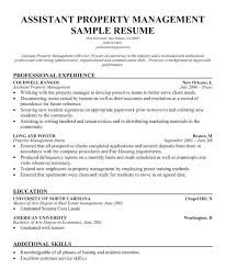 Amazing Property Manager Duties For Resume Easy Builder With Sample Job Description Template Assistant