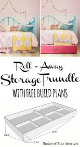 Roll Away Beds Big Lots by Best 25 Trundle Bed Frame Ideas Only On Pinterest Girls Trundle