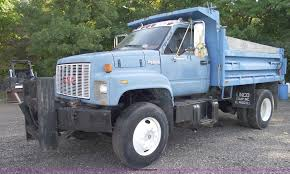100 Single Axle Dump Trucks For Sale 1992 GMC TopKick Single Axle Dump Truck Item C5586 SOLD