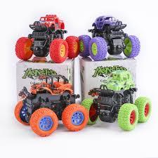 100 Kids Monster Trucks Baby Car Toys Truck Inertia SUV Friction Power