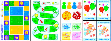 Printable Games For Kids Learning English