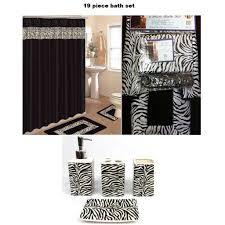 Zebra Print Bathroom Accessories Canada by Cheetah Print Bathroom Accessories
