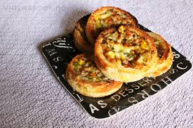 baked canapes vidyascooking mixed vegetable bread canapes