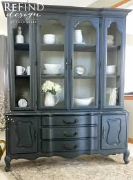 provincial china cabinet painted in sloan custom