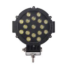 100 Work Lights For Trucks 7 Inch LED Light 51W Cree LED Spot Beam Driving Light Jeep
