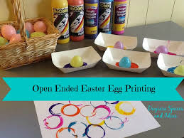 Today Im Sharing A Really Fun Open Ended Easter Egg Printing Activity With You Most Of Us Realize That Art Is About The Process For Our Littles
