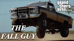 100 The Fall Guy Truck GTA 5 MOVIE CAR BUILD GMC Sierra Grande YouTube