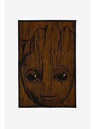 Marvel Guardians The Galaxy Groot Area Rug