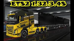 EURO TRUCK SIMULATOR 2 1.32.3.4S + 61 DLC | Euro Truck Simulator 2 Mods