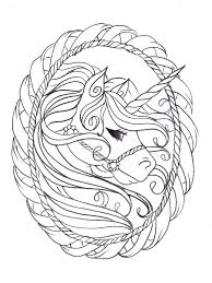 Unicorn Coloring Pages Printable Free Image Detail Kids Pictures For Adults Cute Full Size