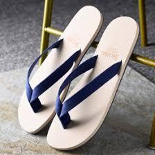 Wholesale Summer Fashion Mens Soft Flip Flops Man Casual Beach Slippers Designer Outdoor Walking Comfortable Sandals