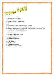 Scary Halloween Riddles And Answers by Halloween Reading Worksheet Free Esl Printable Worksheets Made