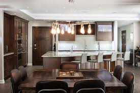 Harmonious Open Kitchen To Dining Room by Harmoniously Handsome Archives Kitchen Ideas