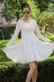 lace dress long sleeved lace dresswhite lace dress little