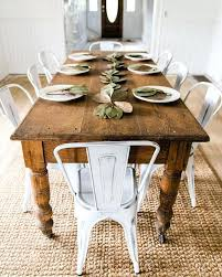 Fantastic Luxurious Rustic Farmhouse Dining Table At Set Farm Style Room Coffee For