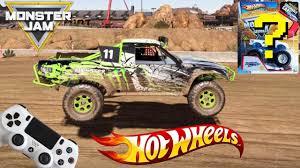 Hot Wheels Monster Jam Video Game Race Challenge With Monster Truck ...