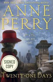 Twenty One Days Signed Book Daniel Pitt Series 1