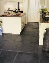 Black Slate Floor Tiles R Ilbl Co Throughout Kitchen Decorations 18