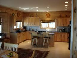 riveting ideas for kitchen lighting design of hockey puck ceiling